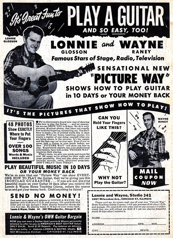 Lonnie and Wayne Ad