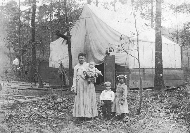 Cotton Workers' Tent