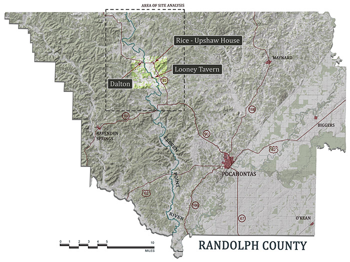 Randolph County Sites