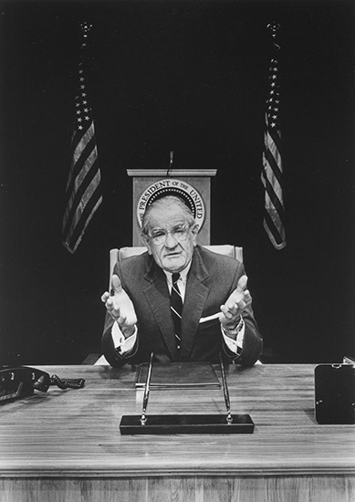 Luckinbill as Lyndon Johnson