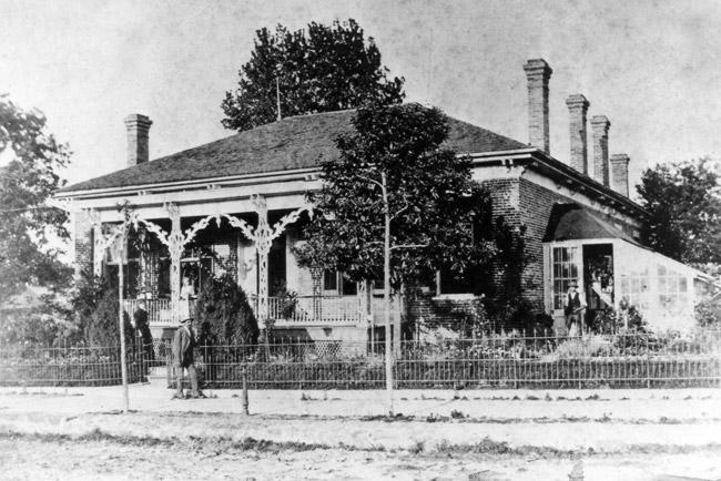 Little Rock: Charles Miller House
