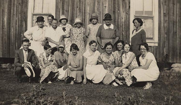 Church Ladies Aid Society