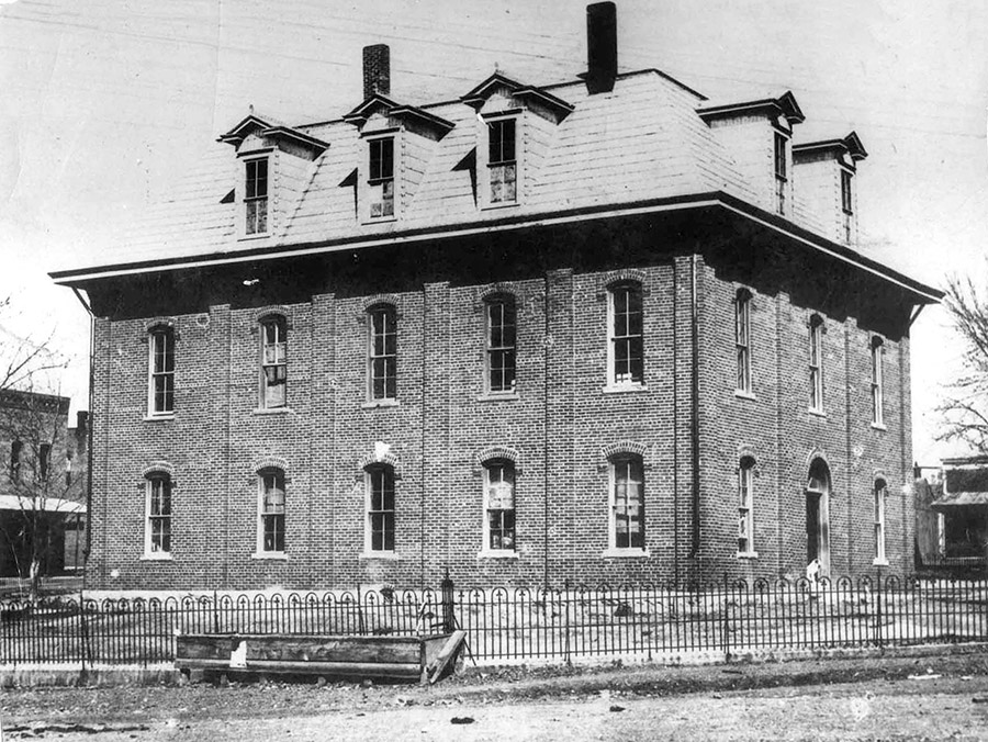 Original Courthouse, with Third Floor