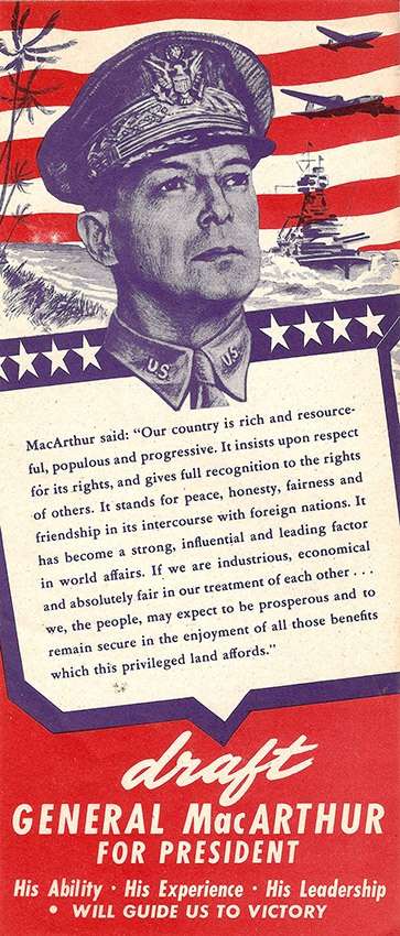 MacArthur Candidacy