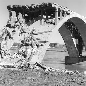 Old Main Street Bridge Demolition