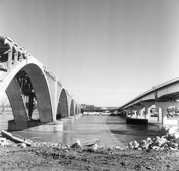 Main Street Bridge Construction
