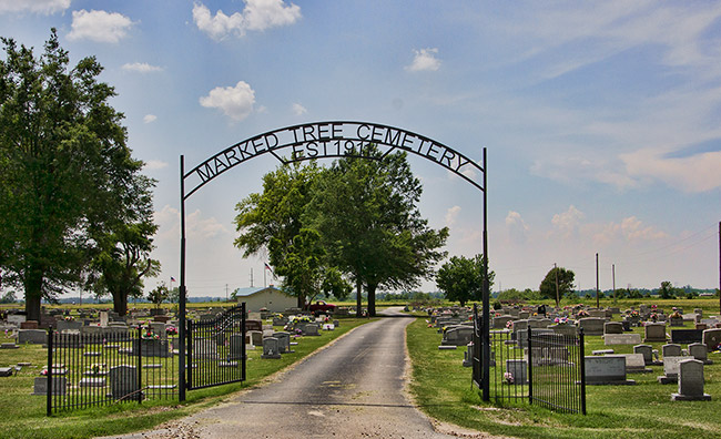 Marked Tree Cemetery
