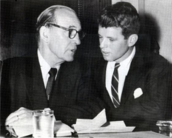 John McClellan and Robert Kennedy