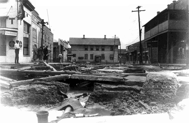 McGehee after 1927 Flood