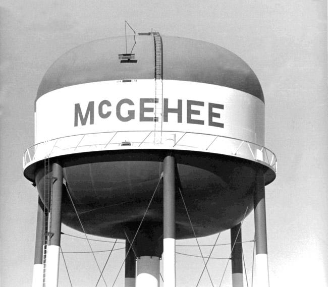 McGehee: Water Tower