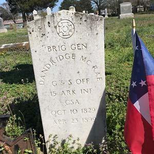 McRae Grave