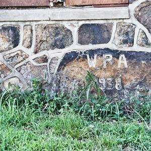 Gymnasium Stonework