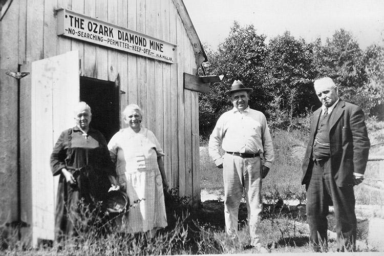 Millars at the Ozark Diamond Mine
