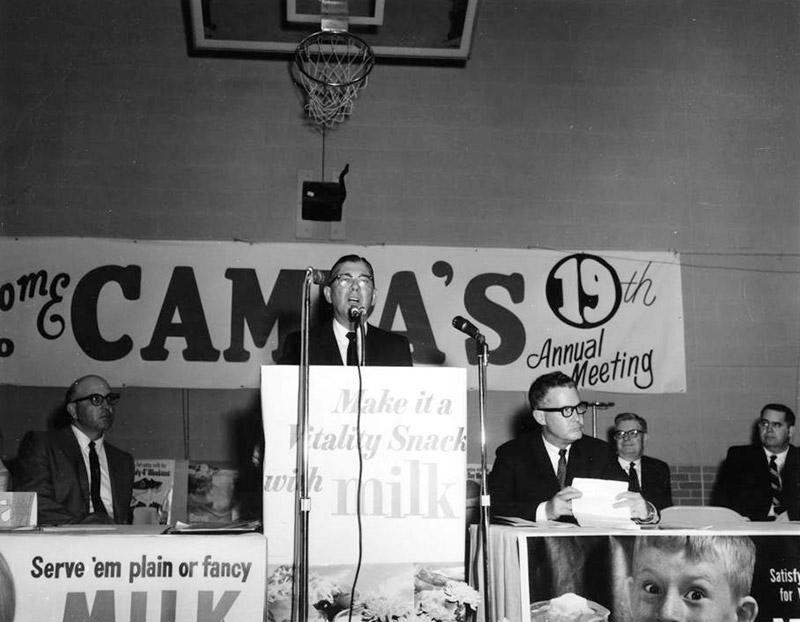 Wilbur Mills at CAMPA Meeting