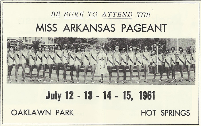 Miss Arkansas Pageant Ad