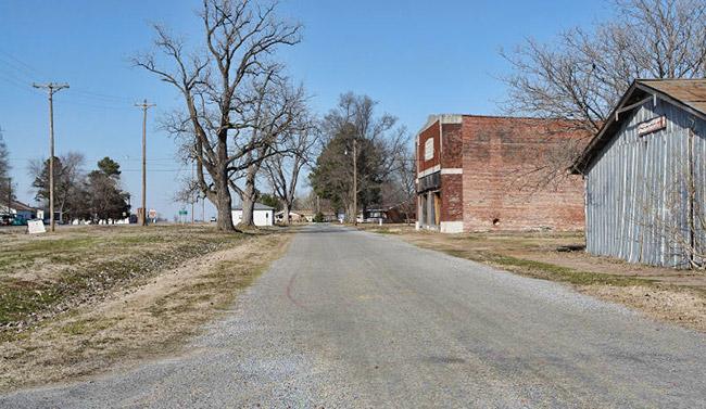 Tupelo Street Scene