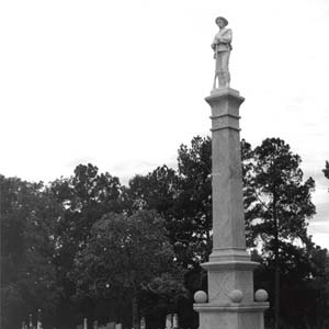 Monticello Confederate Monument