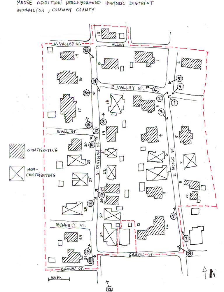 Moose Addition Map