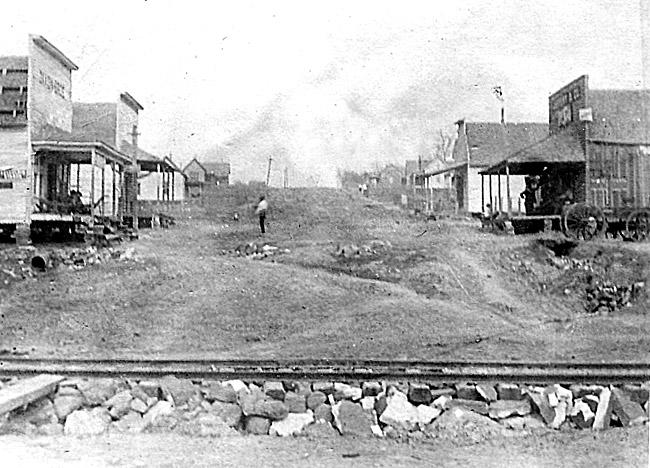 Mount Olive; 1910.