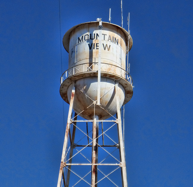Mountain View Water Tower