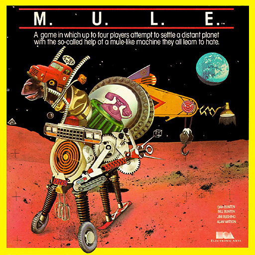 M.U.L.E. Video Game, Designed by Dan  Bunton