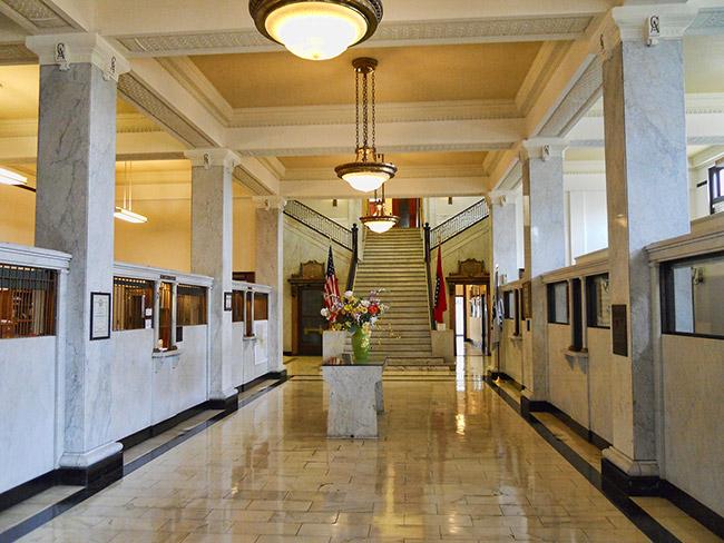 North Little Rock City Hall Lobby