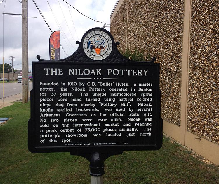 Niloak Pottery Marker