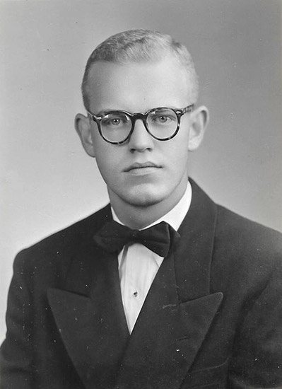 Norman Smith in College