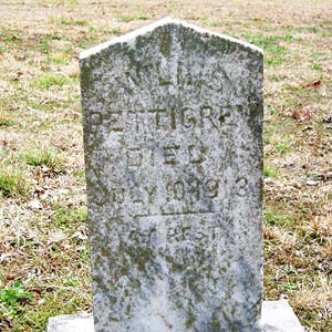 Pettigrew Grave