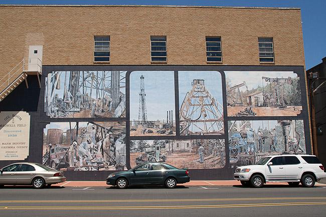 Oil Mural