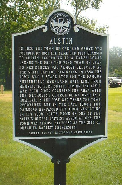 Old Austin Marker
