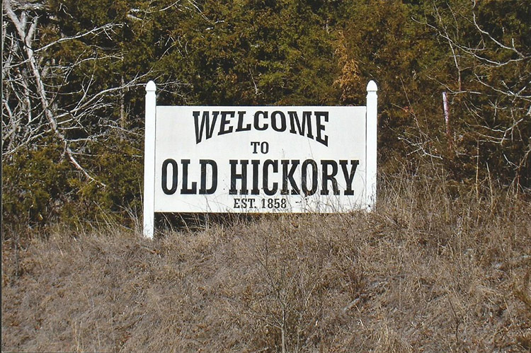 Old Hickory Sign