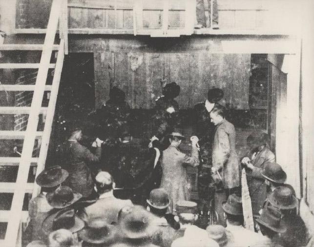 Olyphant Train Robbers Execution