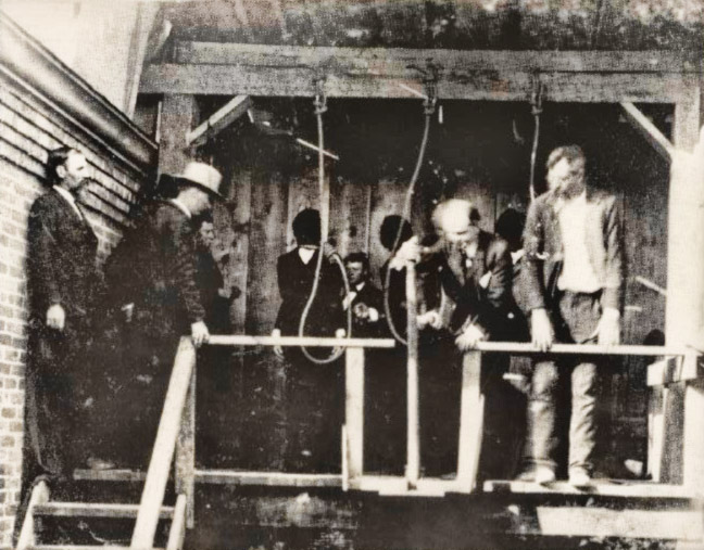Olyphant Train Robbers Execution