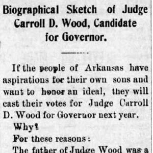 C. D. Wood Editorial