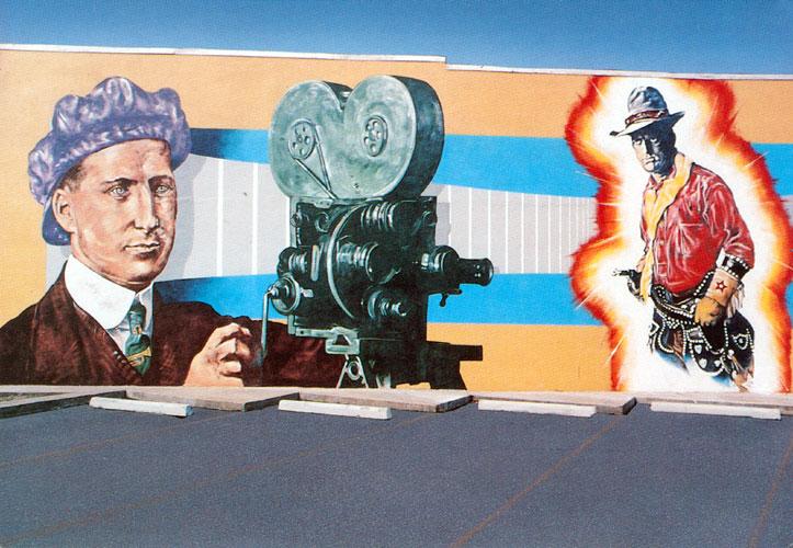 Freeman Owens-Broncho Billy Mural