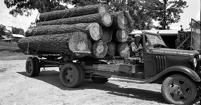 Ozark Badger Lumber Co. Truck