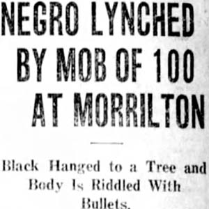 Less Smith Lynching Article