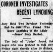 Judge Jones Lynching Article