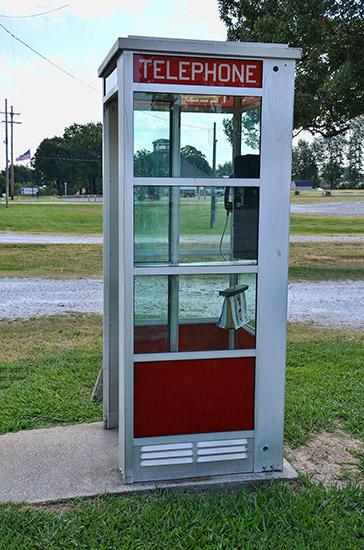 Prairie Grove Phone Booth