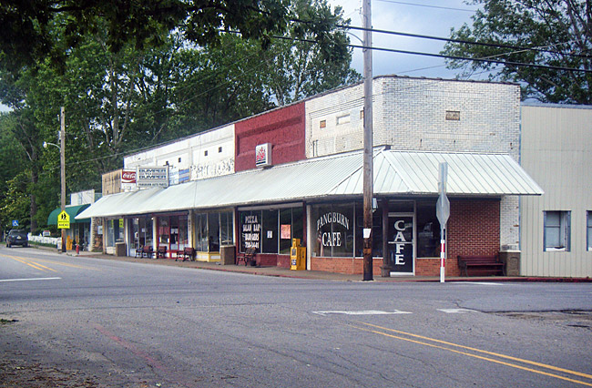 Pangburn Street Scene