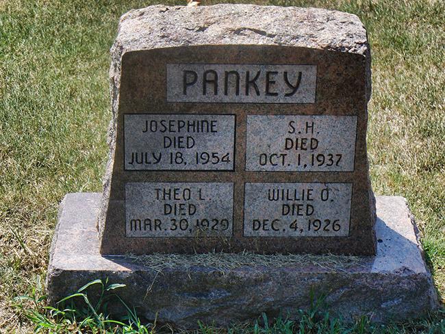 Pankey Gravestone