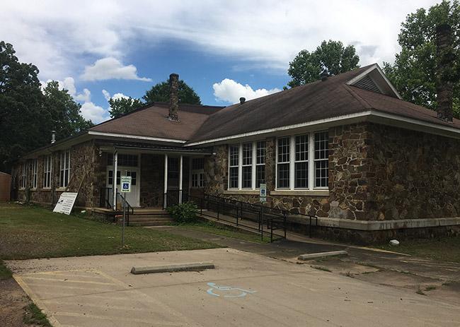 Parks School House - Rear