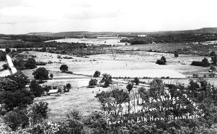 Pea Ridge National Military Park Battlefield