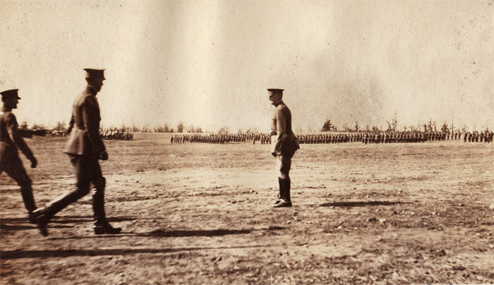 General Pershing Reviewing Troops