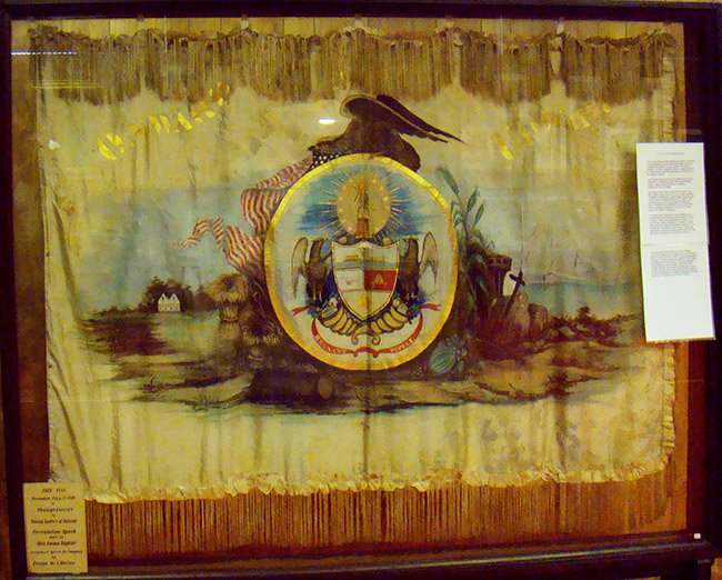 Phillips Guards Flag
