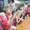 Pickle-Eating Contest at Atkins Pickle Festival