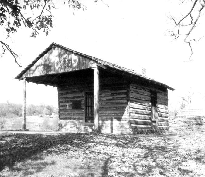 Van Buren: Albert Pike Schoolhouse