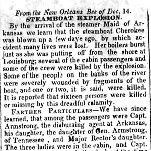 Cherokee Disaster