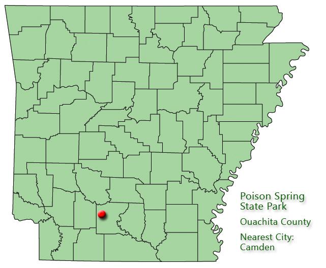 Poison Spring State Park: Park Location